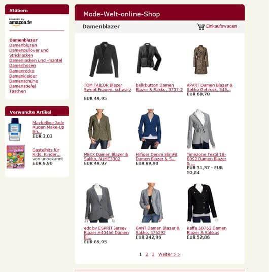 aStore Amazon Backend 3