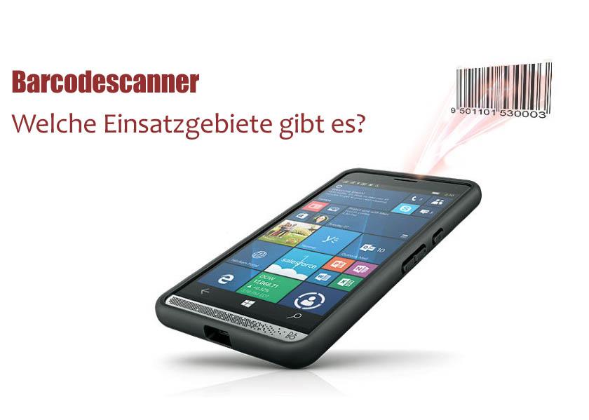 Was ist ein Barcodescanner? Welche Einsatzgebiete gibt es?