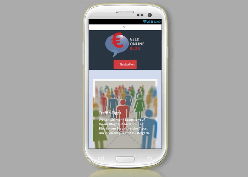 Den Blog mobil machen