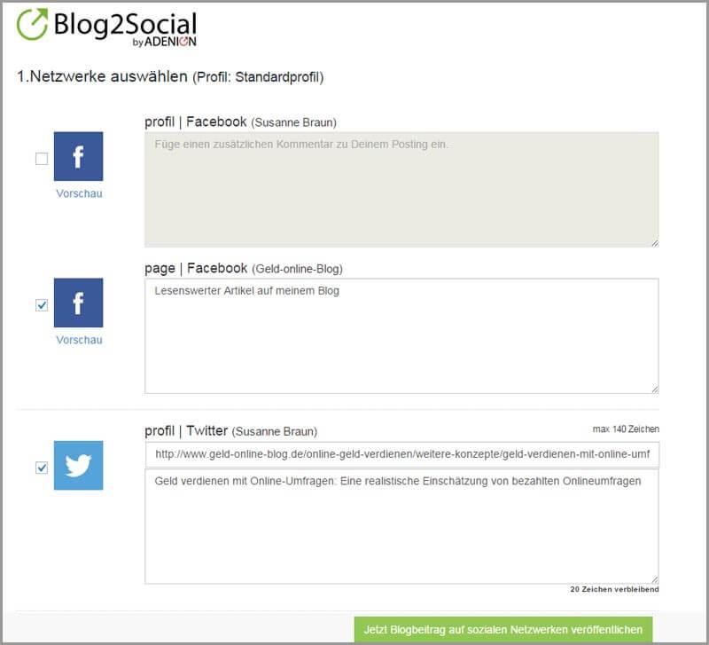 Plugin-Test: Blog2Social (Pro-Version) - Einfaches Teilen von Blogposts im Social Web