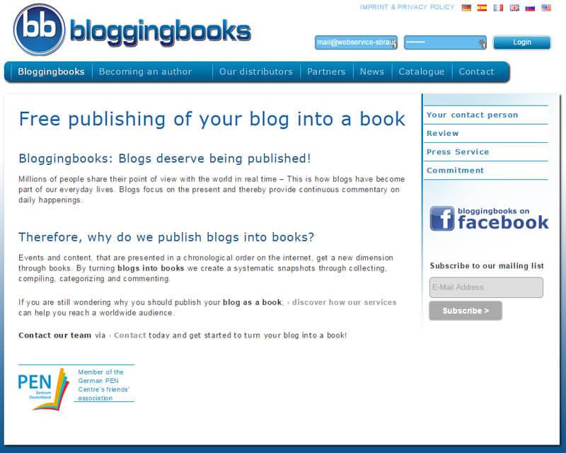 Mit Bloggingbooks den eigenen Blog als Buch herausbringen – Erfahrungsbericht