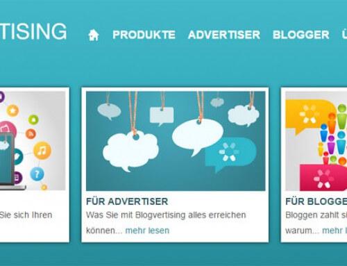 Blogvertising – Noch junge Blogvermarktungsmöglichkeit für Blogger