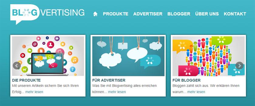 Blogvertising - Noch junge Blogvermarktungsmöglichkeit für Blogger