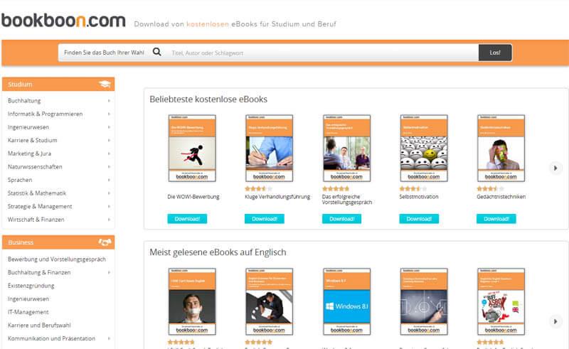 bookboon Kostenlose Businessbücher bei Bookboon.com und Erweiterung meines Downloadbereichs