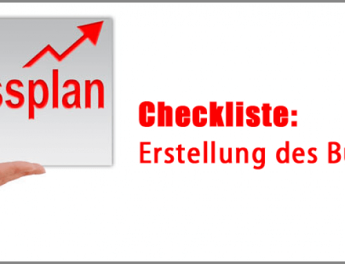 Businessplan-Erstellung: Checkliste