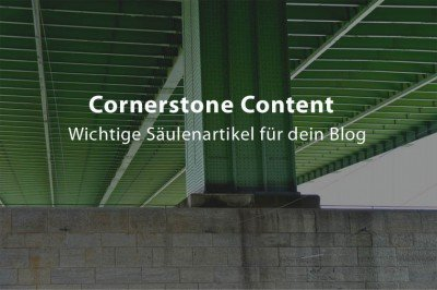 Cornerstone Content erstellen
