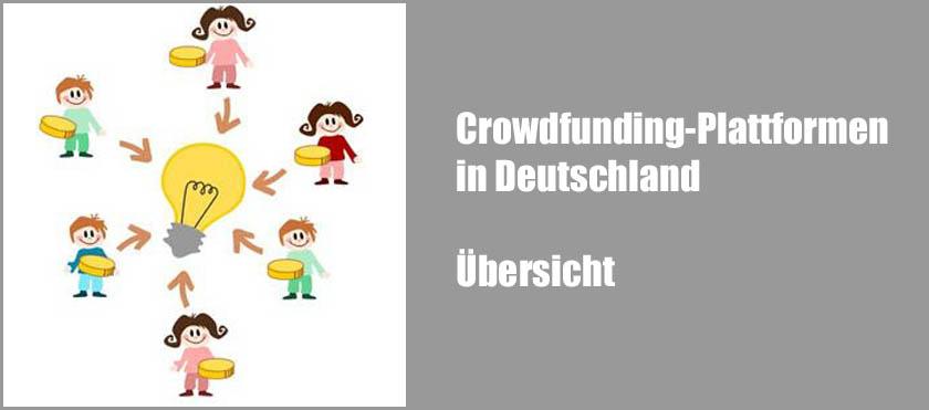 Crowdfunding-Plattformen in Deutschland - Übersicht