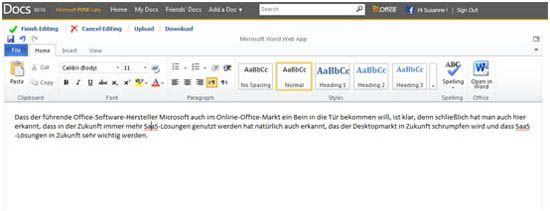 Docs.com von Microsoft