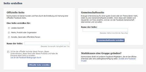 Ihr Profil auf Facebook (7) - Facebook-Seiten