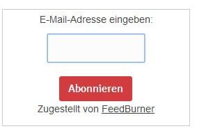 Feedburner-Newsletter einrichten