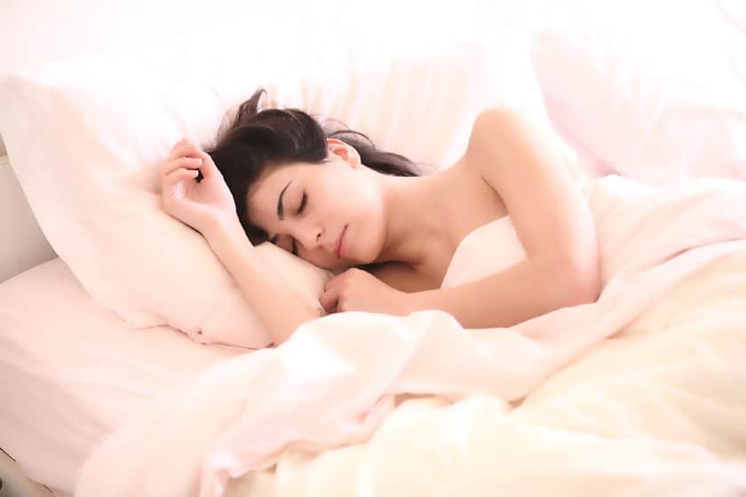Gesunder Schlaf fördert die Leistungsfähigkeit.