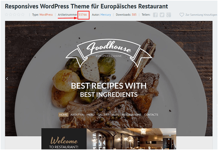 Gewinne ein WordPress-Theme