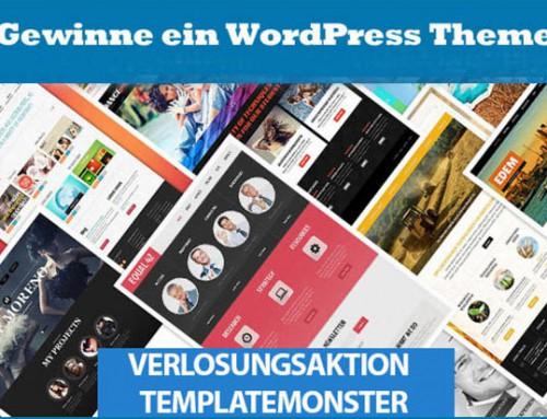 Gewinne ein Premium-WordPress-Theme von TemplateMonster!