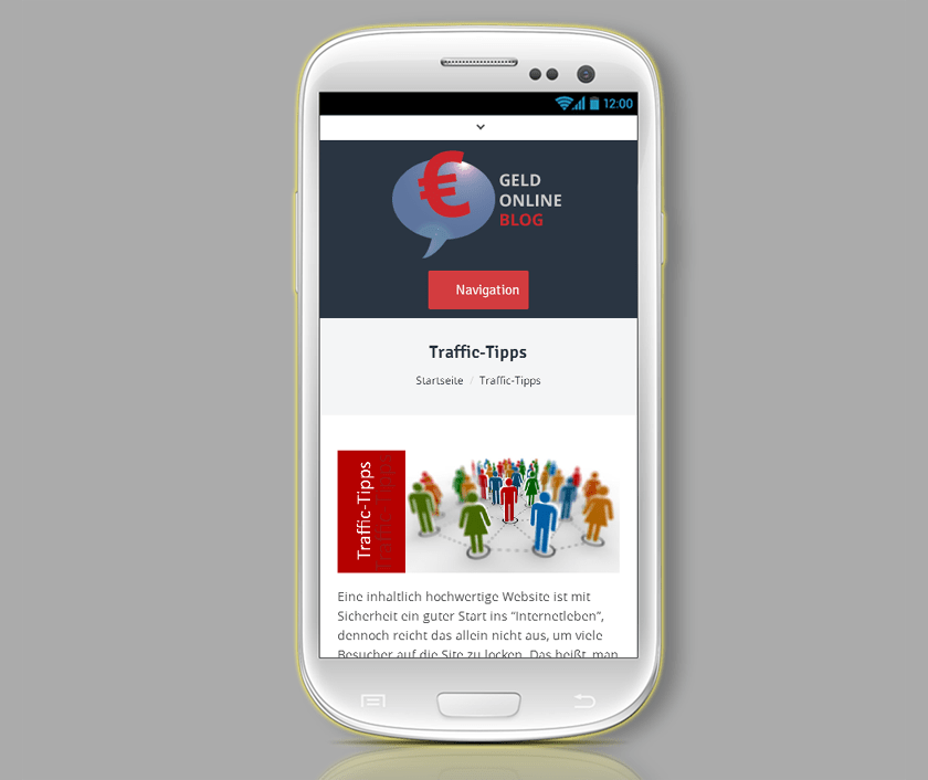 Den Blog mit responsive Themes mobilfähig machen