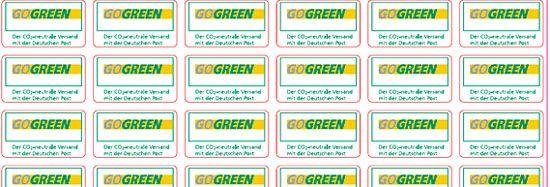Gogreen Etiketten