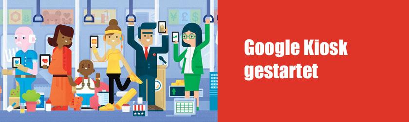 Google Kiosk gestartet: Auch interessante Zeitschriften für Webworker dabei