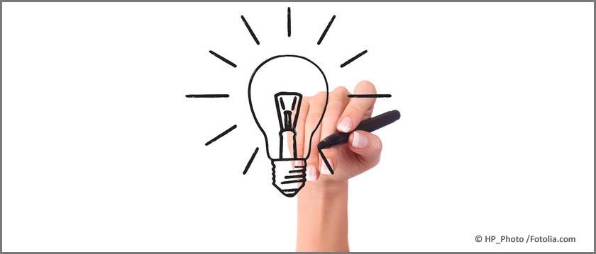 Mit Kreativität und Ausdauer zur optimalen Geschäftsidee