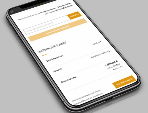 Onlineshops mobil optimieren – So geht's!