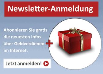 Newsletter und Geschenk