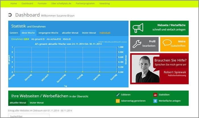 Website-Relaunch des Bannernetzwerkes Schaltplatz.de mit zahlreichen Optimierungen