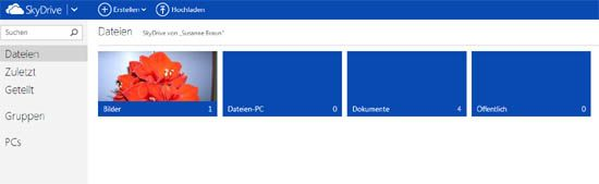 SkyDrive Backend