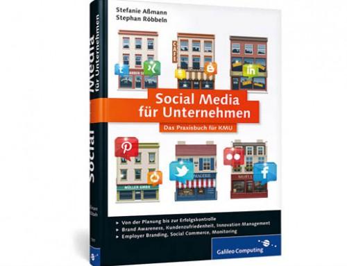 Buchbesprechung des Monats: Social Media für Unternehmen (Autoren: Stefanie Aßmann, Stephan Röbbeln)