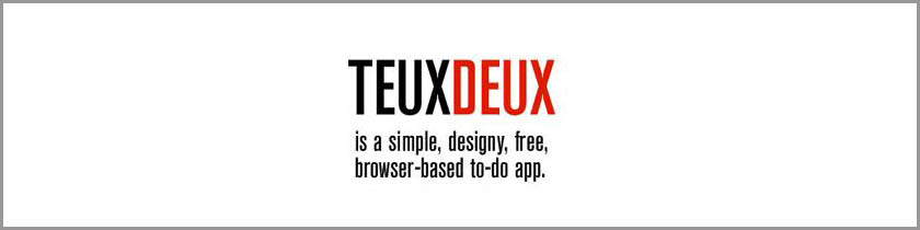 Teux deux - Unkomplizierte browserbasierte To-Do-Applikation