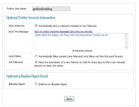 Twitter-Abläufe automatisieren mit Socialoomph