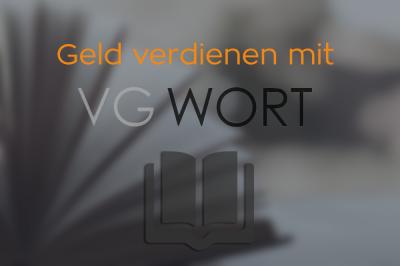VG WORT anmelden