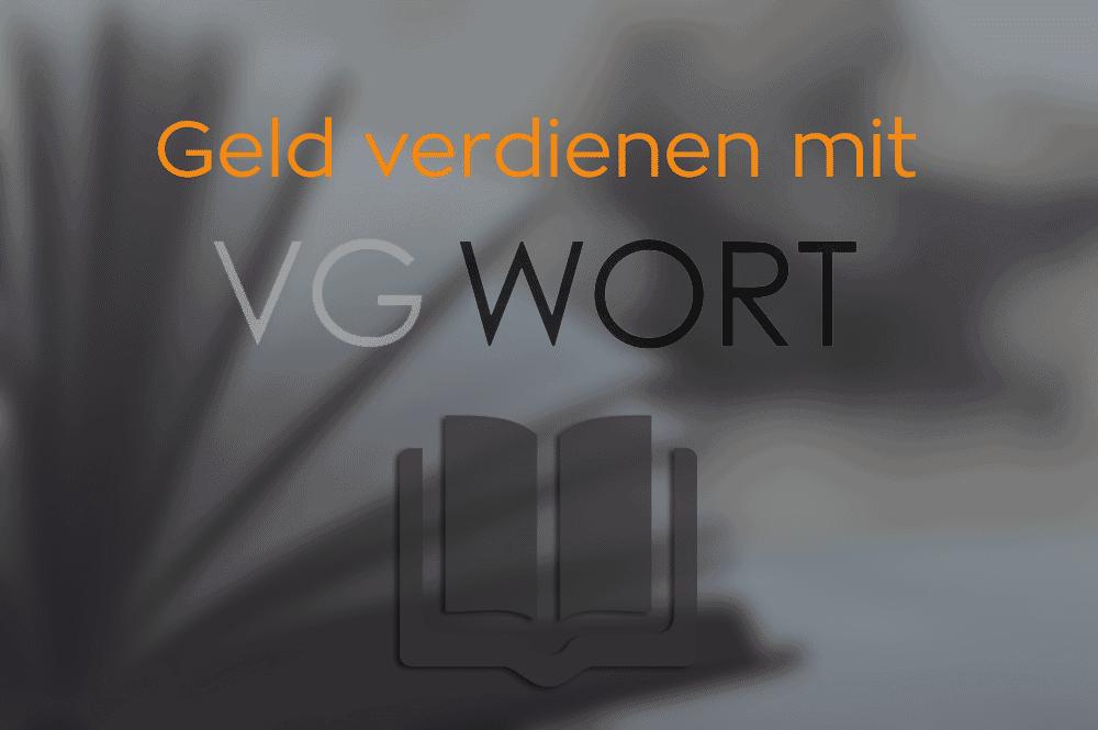 Geld verdienen mit der VG Wort: Meldung erstellen