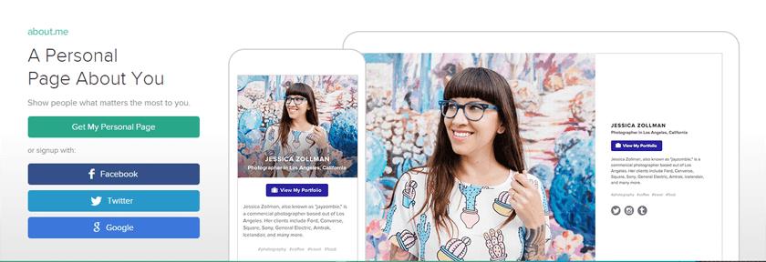 Sich professionell präsentieren mit virtuellen Webvisitenkarten