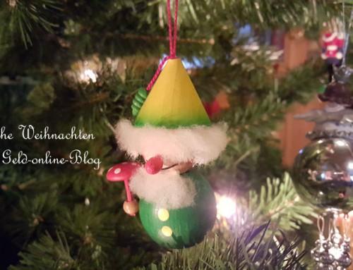 Frohe Weihnachten 2015 wünscht Geld-online-Blog