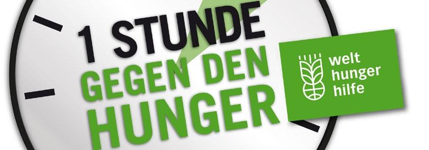 Was ist eine Stunde wert? - Jubiläumsaktion der Welthungerhilfe