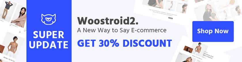 Woostroid2: WooCommerce Theme