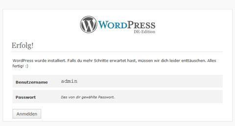 Einen Blog erstellen mit WordPress - Teil 1: Die 5 Minuten-Installation