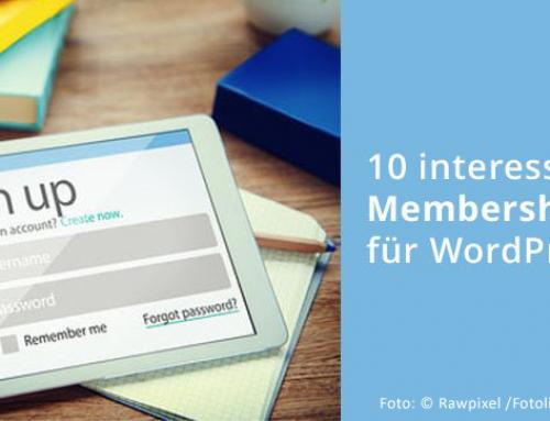 10 interessante WordPress-Membership-Plugins für den Aufbau einer Mitgliederseite