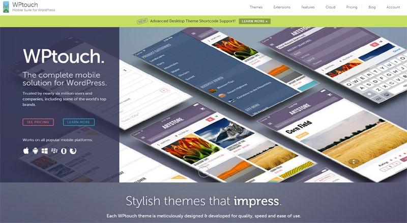 Plugin-Vorstellung WPTouch Pro: Mobile Version eines WordPress-Blogs erstellen